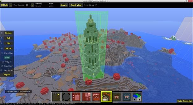 How to Edit Your Minecraft Maps with an External Editor Schematics Minecraft on