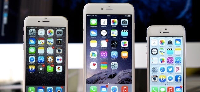 iphone 6's with ios 8 and icloud drive