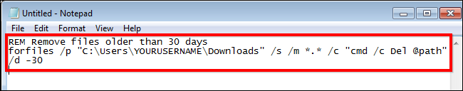 How to Automatically Delete Files in Your Download Folder on