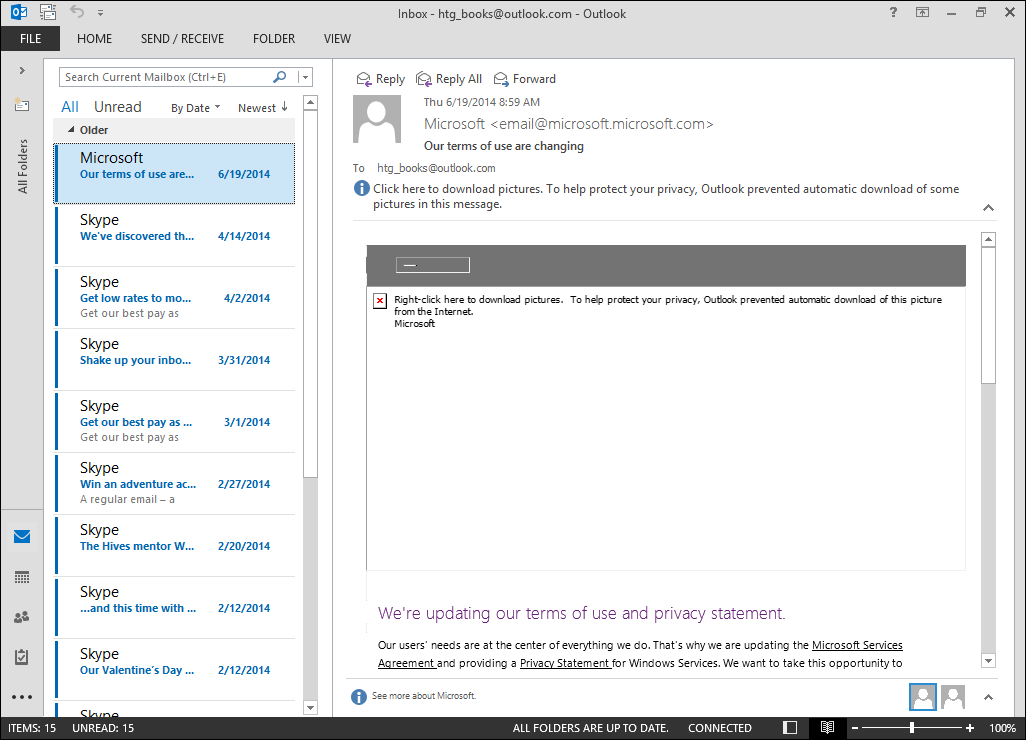 download ms outlook for windows 8