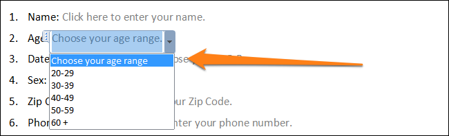 how to create a fillable pdf form in word 2010