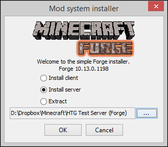 minecraft mod installer for windows 10