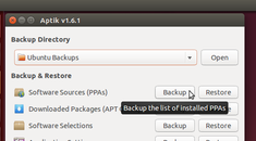 How to Backup and Restore Your Apps and PPAs in Ubuntu Using Aptik
