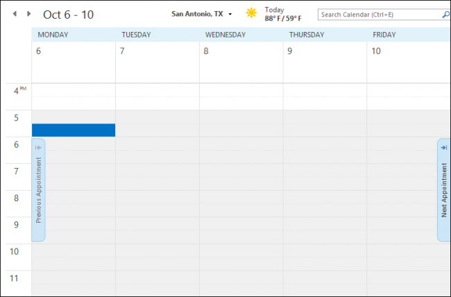 Blank Calendar In Outlook : Beginner how to create manage and share calendars in