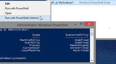 How to Configure Windows to Work with PowerShell Scripts More Easily