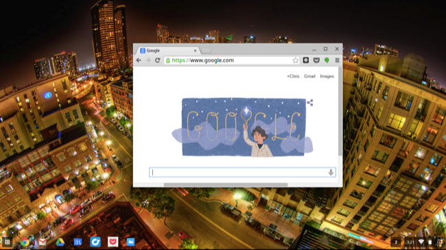 chromebook desktop