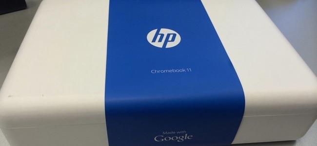 hp chromebook in box