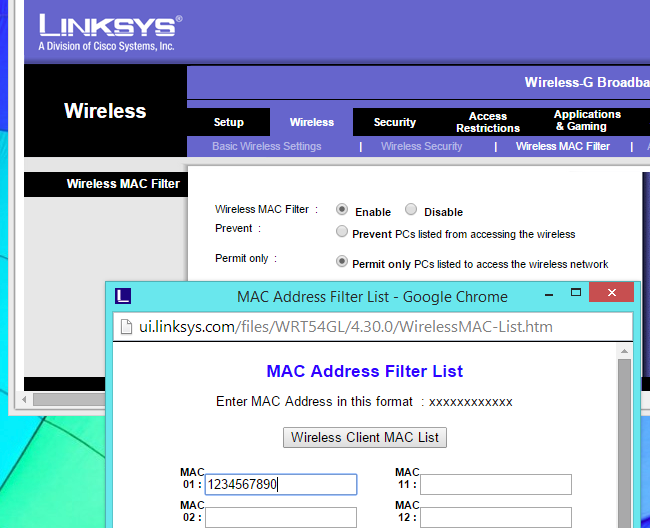 Why You Shouldn't Use MAC Address Filtering On Your Wi-Fi Router