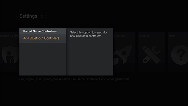 How to Pair Third Party Controllers with Your Fire TV and