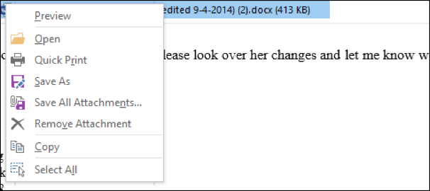 How to Manage Attachments in Outlook 2013