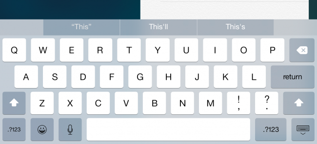 how to get rid of predictive text bar on iphone