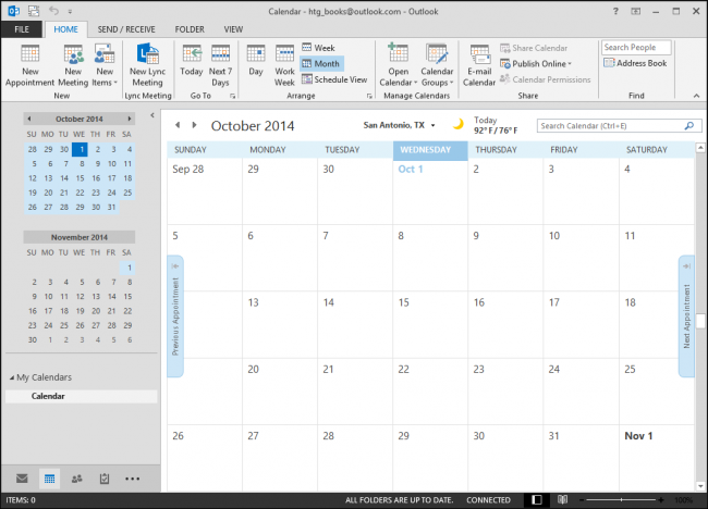 Calendario Outlook.Beginner How To Create Manage And Share Calendars In