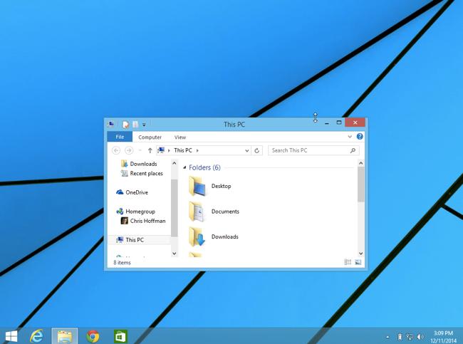 the good old windows desktop