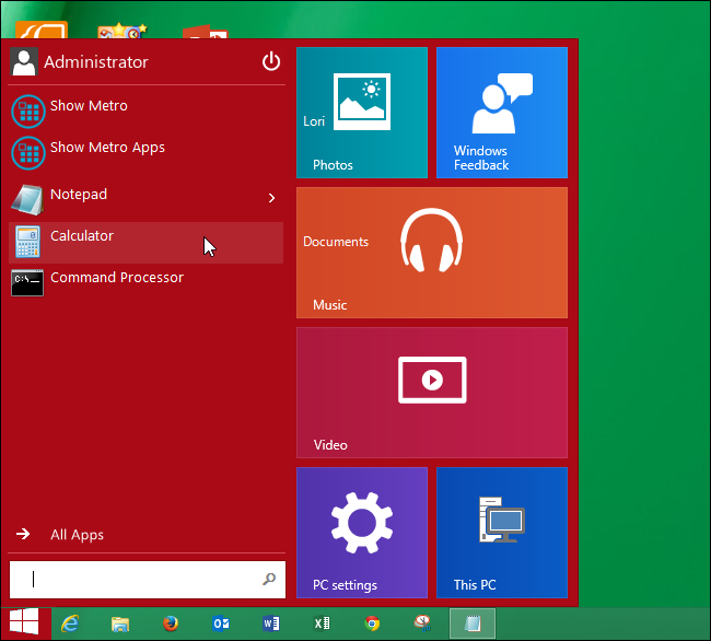 How to Get a Windows 10-Style Start Menu in Windows 8 1