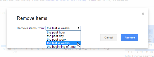 how to find deleted history on google