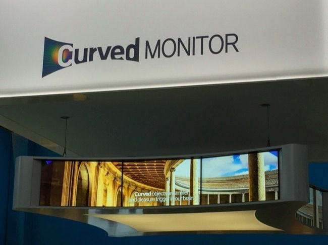 Why Would You Want A Curved Tv Or Computer Monitor