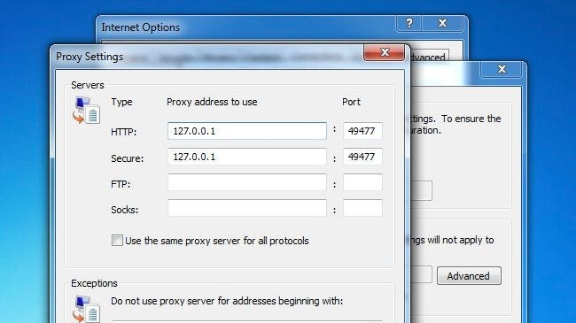 How to Tell Whether Your Windows PC is Using a Proxy Server