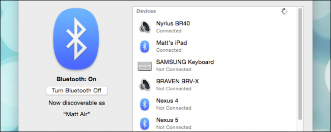 How to Use Bluetooth File Transfer Between OS X and Android