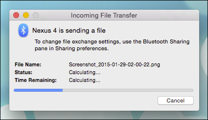 bluetooth file transfer for pc