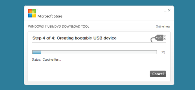 make bootable usb drive from windows 7 iso