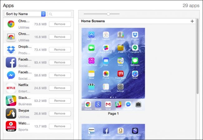 How to Use iTunes to Quickly Organize Apps on iPhone and iPad