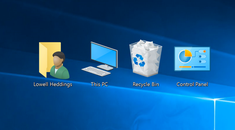 "How to Display the ""My Computer"" Icon on the Desktop in Windows 7, 8, or 10"