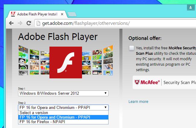 adobe flash player ppapi download