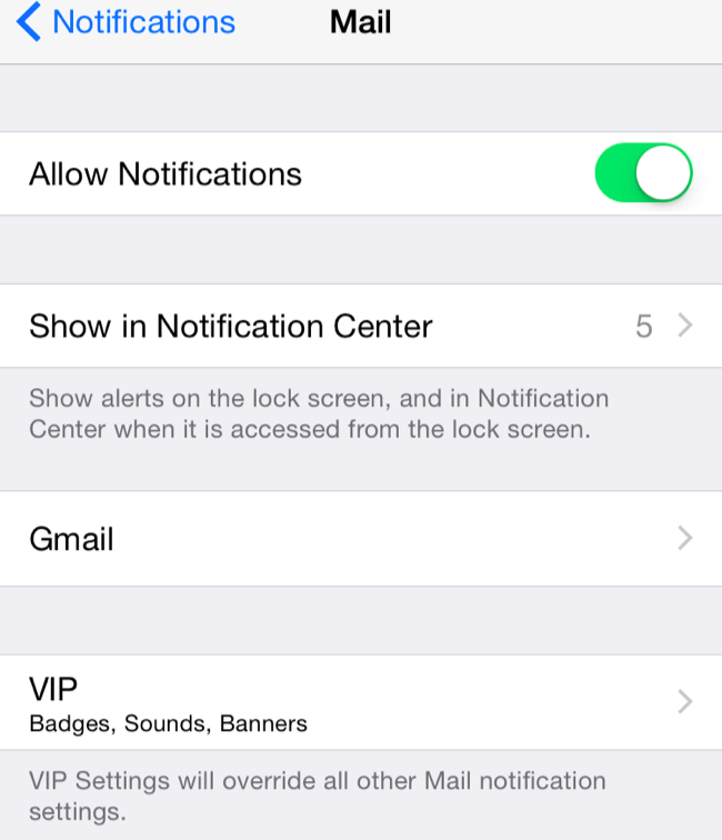 How to get instant email notifications on iphone 7