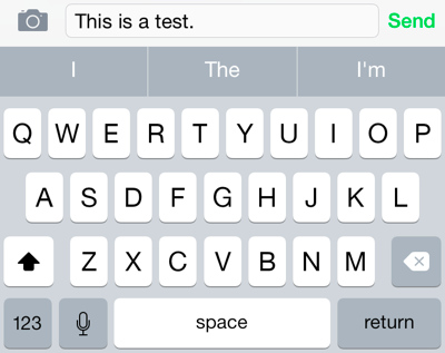 12 Tricks for Typing Faster on Your iPhone or iPad's Keyboard