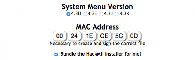 how to find wii mac address