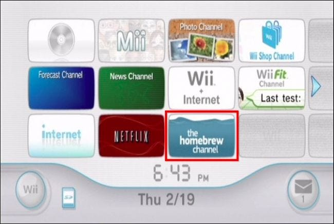 the homebrew channel wii 4.3