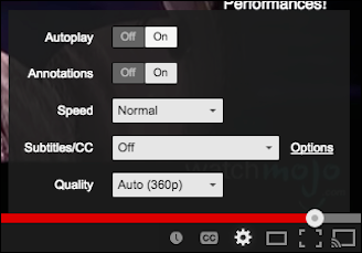 how to disable annotations on youtube videos