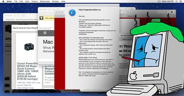 Mac OS X Isn't Safe Anymore: The Crapware / Malware Epidemic Has Begun