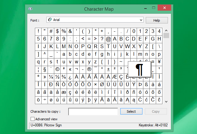 How to Quickly Type Special Characters on Any Computer, Smartphone Character Map Mac on