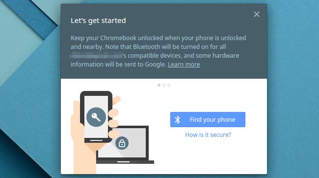 android smart lock chromebook