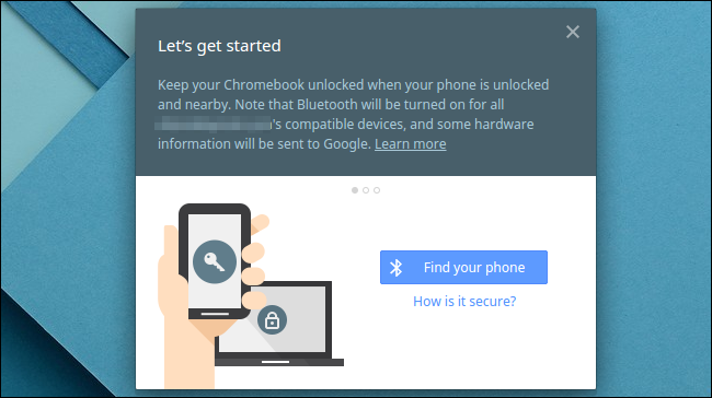 let's get started with smart lock on a chromebook