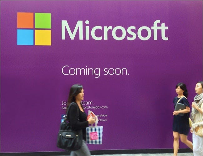 microsoft store coming soon