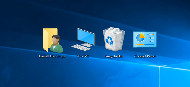 How do i add an icon to my desktop