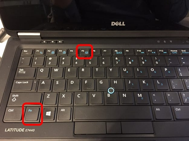 How Do You Disable The TrackPoint Mouse Button On A Dell