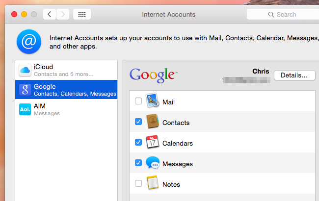 how to change email account excel uses mac