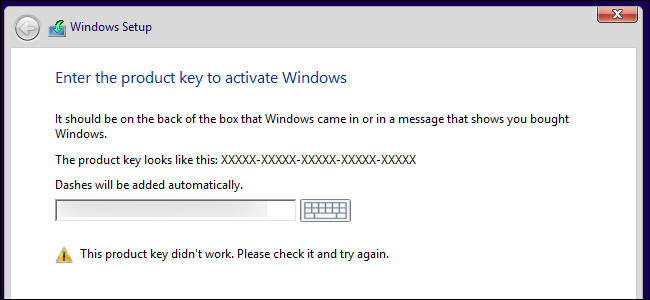 checking windows 10 activation key