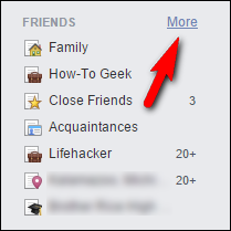 facebook how to put friends into certain group