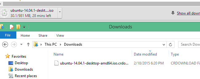 what is a  crdownload file and can you delete it