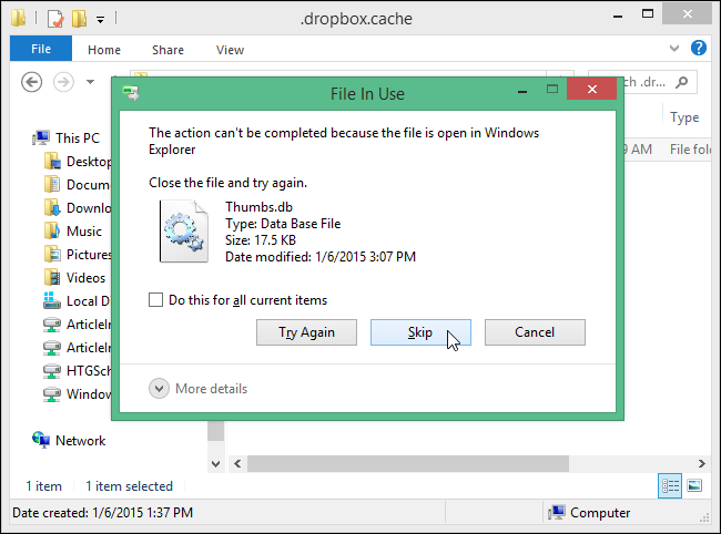 how to delete files from dropbox to free up space