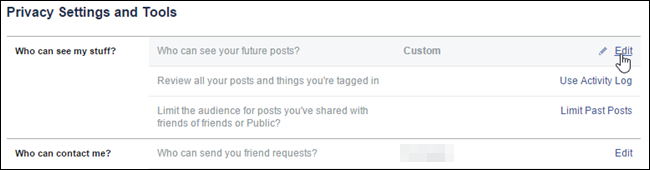 How to Show or Hide Facebook Posts for Certain People