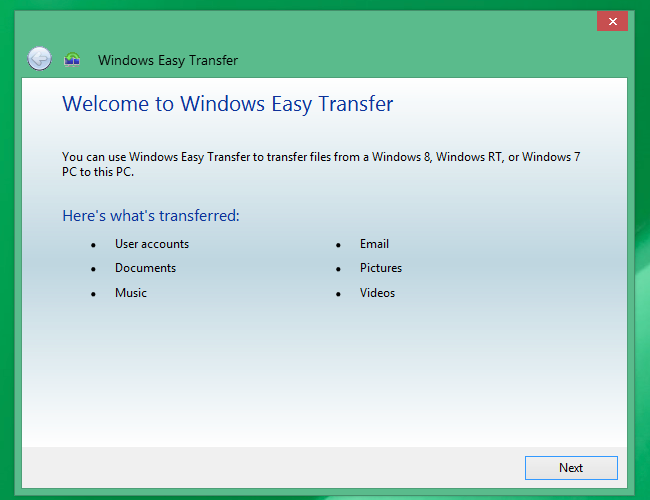 How to Quickly Transfer Your Files and Settings to a New PC (or Mac)