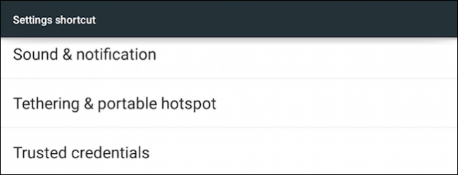 How to Add a Hotspot Shortcut to the Android Home Screen