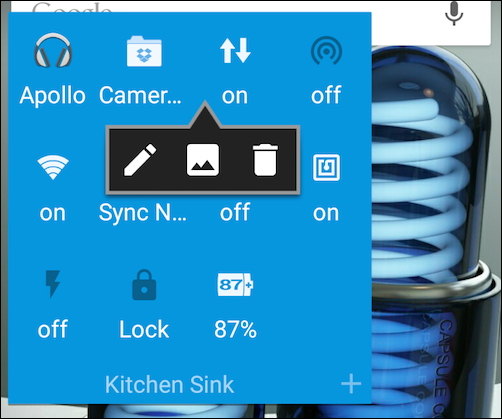 how to add weather app to android home screen