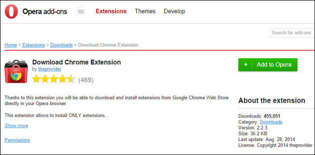 How to Install Chrome Extensions In Opera (and Opera Extensions in