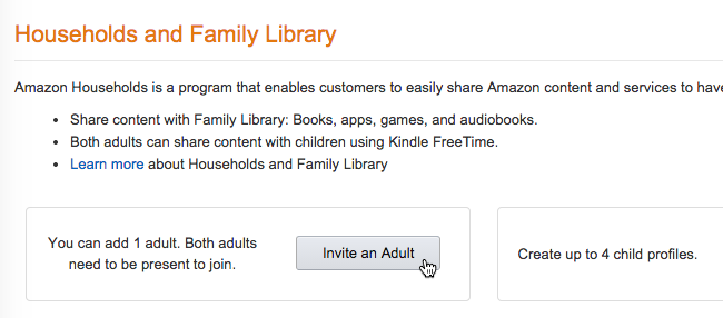 Use Kindle Family Library to Share Purchased eBooks With
